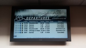 Cooling Airport Signage